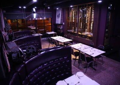 Banquettes et Cellier